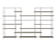 Regal aus Metall PLAIN by Lema | Design Francesco Rota