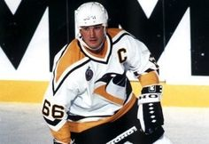Mario Lemieux was diagnosed with cancer, and had to retire. After surviving and getting better, he was able to come back and play in the NHL. Now he is the owner of the Penguins, the team he played for in his day. Ice Hockey Players, Nhl Players, Mike Bossy, Canada Cup, American Hockey League, Hockey Hall Of Fame, Mario Lemieux, Hockey World Cup