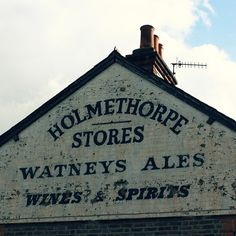 I had already noticed some cool faded advertisement on walls around my area before. But the entry on ghost signs in the BBC photoblog made me think I could start a series. I'll keep my eyes peeled!
