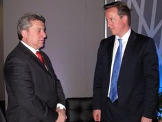 President Ivanov with United Kingdom Prime Minister David Cameron