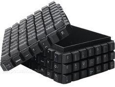 Caixa de teclado de computadores