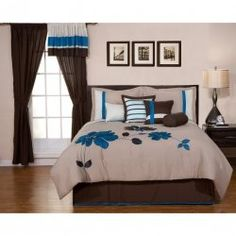 Brown and blue bedding sets look elegant and sophisticated in a bedroom decor. If you want redecorate the bedroom, here are so gorgeous brown...
