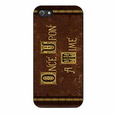 Once Upon A Time Cover Henry S Book iPhone 5/5s Case