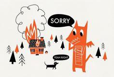 Sorry Dragon by - Victoria Fernandez -, via Flickr