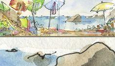 Barbara Brinkmann | Bilder Plakate Karten Aquarelle Ölfarben Illustrationen | Öl und Aquarell 1