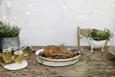 A festive pork belly recipe.
