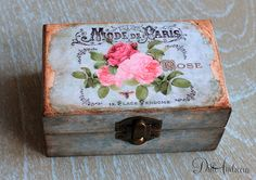 Wooden jewelry box. Ring Bearer Box Wedding Ring Box por ArtDidi