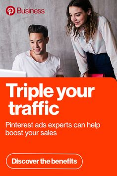 Pinterest Propel offers free one-on-one support, custom-made ads and success strategies from our experts to help you make the most of your marketing budget. Sign up today!
