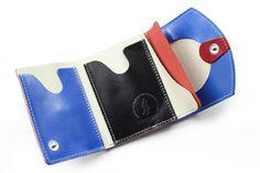 【小さい財布・極小財布】小さいふ。 ペケーニョ 青海波(藍色) セイガイハ 【日本の伝統文様シリーズ】