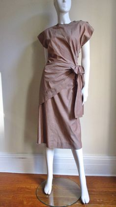 1940's Adele Simpson Wrap Top & Skirt
