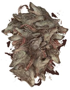 """""""Homo homini lupus"""" by AJ Frena (USA)"""