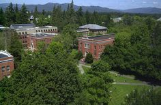 University of Oregon - this is where the movie Animal House was filmed.