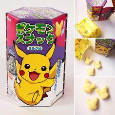 #Pokemon-snack-milk #pikachu  Vuelve Pikachu en forma de maíz inflado este aperitivo es divertido a la vista.  http://ift.tt/1VPNF0E  Pikachu reborn in corn puff form this snack is fun to look at.  #boxfromjapan #BFJcajamarzo #BFJmarchbox #golosinasjapon #japanesecandy #snack #pokemon