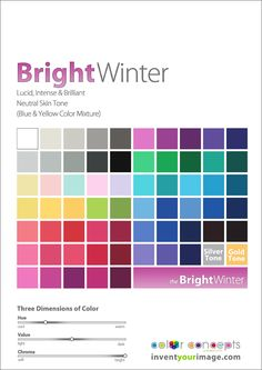 Colors for a Bright Winter Women www.inventyourimage.com Copyright © 2011 No part of these materials may be  reproduced, distributed or transmitted in any form or by any means  unless prior written permission is given by  Lisa K. Ford- CEO and Founder of  Invent Your Image, LLC