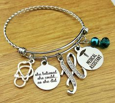 Medical Assistant Gifts Medical Assistant Graduation Gift Medical Assistant Bracelet Gift for Medical Assistant Gifts for Medical Assistant by KainsBoutique on Etsy