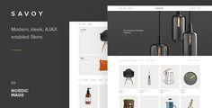 Savoy v1.3.1  Minimalist AJAX WooCommerce WordPress Theme