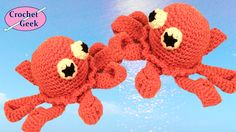 Crochet Octopus - Free pattern and video tutorial from the Crochet Geek.