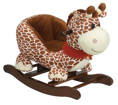 Rockimals.com - Rocking Giraffe with Seat, $119.99 (http://www.rockimals.com/rocking-giraffe-with-seat/)