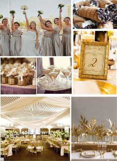 Gold Wedding Theme. One of my architecture projects at MU