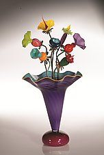 Art Glass Sculpture by Bob Kliss and Laurie Kliss
