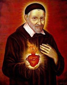 St+Vincent+de+Paul+and+the+sacred+heart.jpg (632×800)