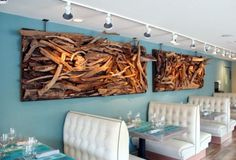 Driftwood Wall Art Spectacular On Decorating Home Ideas with ...