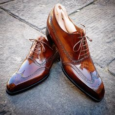 Handmade Brown Ankle Leather Shoes, Men's Formal Shoes Upper Material Genuine cow Leather Leather Lining Leather Sole Lace Up Leather Shoes Ankle Shoes For Mens This is a made-to-order product. Nike Heels, Suede Shoes, Shoe Boots, Tan Color Shoes, Gents Shoes, Shoes Men, Ascot Shoes, Men Dress, Dress Shoes