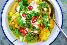 Tart London: How to make smoked haddock and sweet potato curry Smoked Trout, Smoked Fish, Fish List, Sweet Potato Curry, Fish Curry, Fish And Seafood, Seafood Recipes, Winter Months, Tart