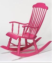 Merveilleux For Grandma: Rocking Chair #ModernThanksgiving Rocking Chair Redo, Vintage Rocking  Chair, Pink