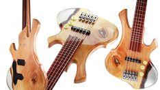 Chitara Bass Tracktor Aqua by Criman Custom Bass, Custom Guitars, Seymour Duncan, Tree Bark, Great Night, Special Gifts, Aqua, Pure Products, Stage