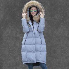 83.70$  Buy here - http://ali8a8.shopchina.info/1/go.php?t=32740063113 - Oversized Coats Winter Jacket Women Hooded Raccoon Fur Collar Parkas Plus Size 5XL Women's White Duck Down Jacket Parka C2648 83.70$ #aliexpress