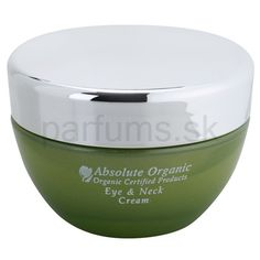 Absolute Organic Face Care krém na oči a dekolt
