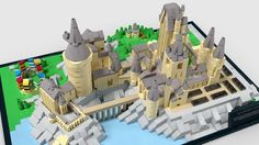 Hogwarts Castle Micro :: My LEGO creations. Famous castle from Harry Potter movies now in micro version.