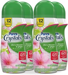 Purex Crystals In-Wash Scent Booster 4-Pack as low as $4.53 - $1.13 per Bottle! Best Amazon Deals, Amazon Sale, Amazon Subscribe And Save, Coupon Queen, Cherry Blossom, Essential Oils, Fragrance, Crystals, Bottle