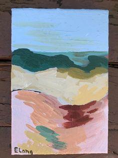 Wandering Dunes – Between the Evergreens Art by Elizabeth Lang Tap Room, Dune, Evergreen, Original Artwork, Artist, Nature, Painting, Inspiration, Biblical Inspiration