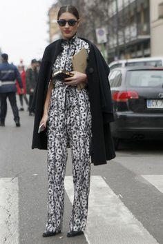 Street Style:12 Chic Ladies at Men's Fashion Week in Milan - FLARE