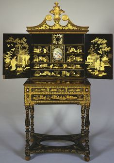 Chinese Cabinet, 1820, Royal Collection Trust.