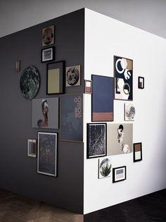 50 Fotowand Ideen, die ganz leicht nachzumachen sind Photo wall Ideas you may not have thought of ye Inspiration Wand, Interior Inspiration, Wall Design, House Design, Art Decor, Room Decor, Frames On Wall, Empty Frames, Wall Ideas
