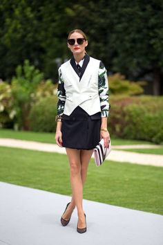 Olivia Palermo at Paris Couture Week
