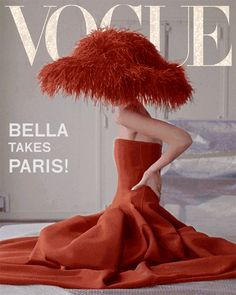 Bella Hadid features in Vogue US 2019 exclusive digital cover 'Bella Takes Paris' with makeup by Jen Myles and set design Andy Hillman. Vogue Magazine Covers, Vogue Covers, Fashion Mode, Fashion Beauty, Style Fashion, Vogue Us, Richard Avedon, Img Models, Elsa Hosk