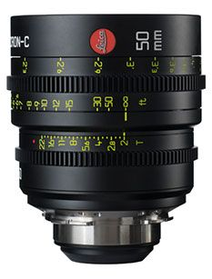 Leica Summicron-C - Smaller, lighter cine lenses with a classic look and modern design.