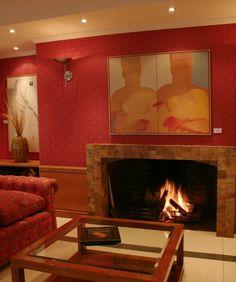 Salón Rojo, Hotel San Martín. Viña del Mar #Vinadelmar #Hsmchile #Smokestack #Travel #Tourism #Turismo
