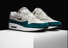 Nike Air Max 1 Jewel Atomic Teal | Release Date: Oct 21, 2017 | Price: $140 | #airmax #airmax1 #nike #gym #style #fashion