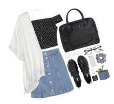 """""""LOCK THE DOOR"""" by humpinghoran ❤ liked on Polyvore featuring Forever 21, Abercrombie & Fitch, Topshop, Cool Change and Marc Jacobs"""