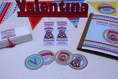 Comunion de Valentina estampitas - toppers - libro de firmas - banderin de deco - nombre en madera Diseño: Absurda Mente Más en:  https://www.facebook.com/absurda.mente2
