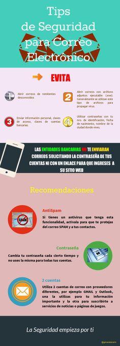 Mi primera Infografía: Tips de Seguridad para Correo Electrónico. 20-06-2014