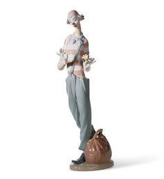 01006997  PAYASO ENAMORADO   Año de lanzamiento: 2003  Escultor: Javier Molina  Medidas: 35x10 cm