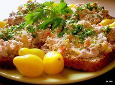 Pasta makrelowo - paprykowa