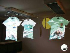 Light design instalation for Freshlabels - chemistry gallery