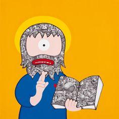 'Nemo Propheta' by hackatao on artflakes.com as poster or art print $16.63 #art
